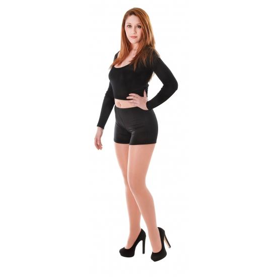 Sexy shorts zwart