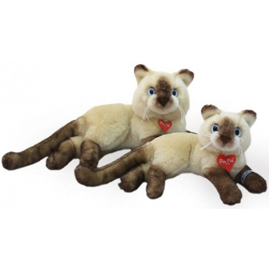 Siamese katten knuffel 30 cm