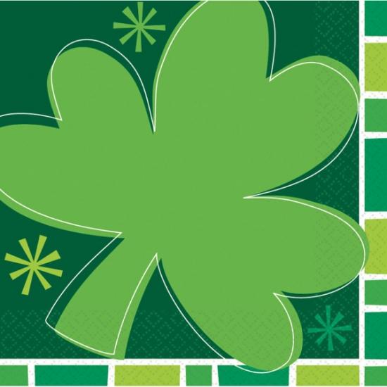 Sint Patricks Day servet 16 stuks