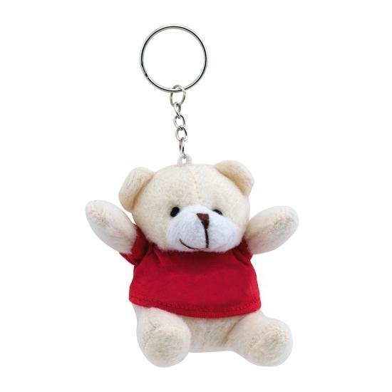Sleutelhanger beer rood
