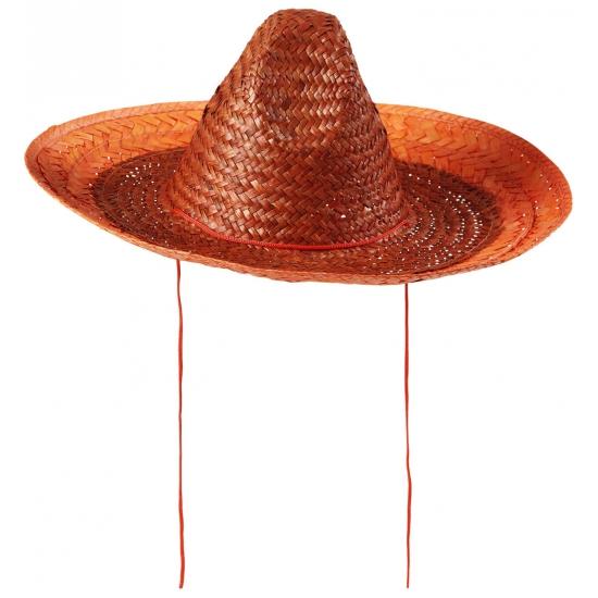 Sombrero oranje 48 cm