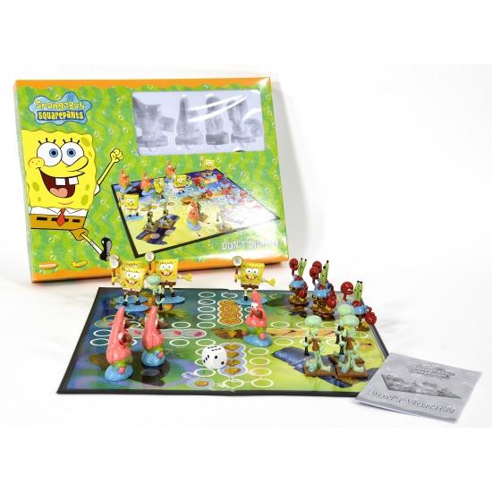 Spongebob bordspel Mens erger je niet
