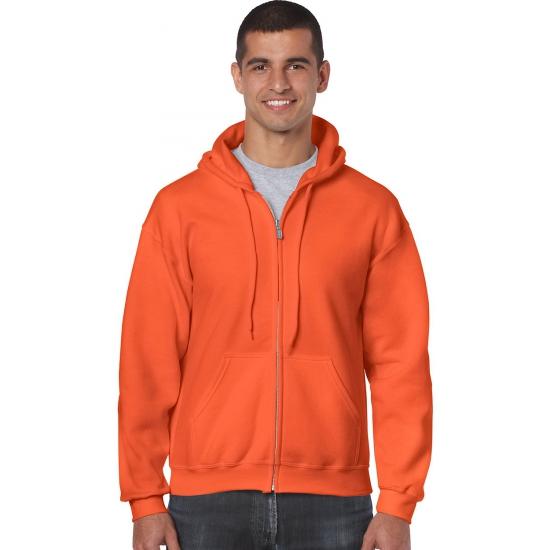 Sportief vest oranje voor heren