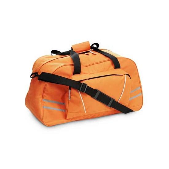 Sporttas oranje 60 cm