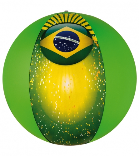 Strandbal Brazilie thema 50 cm