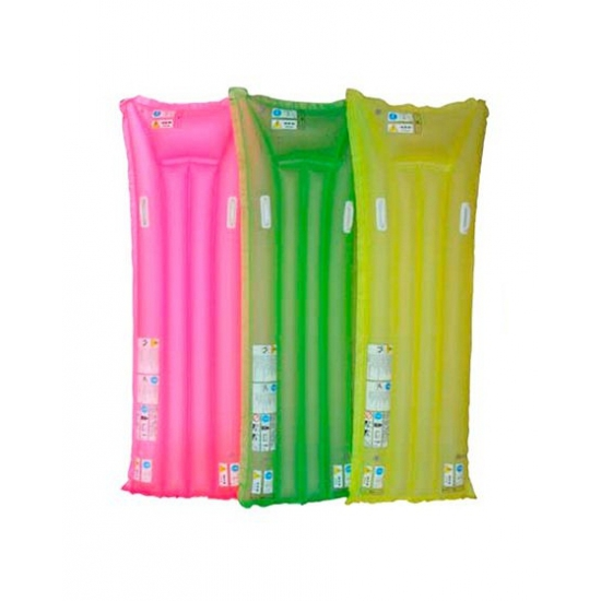 Summertime neon luchtbedden 183 cm