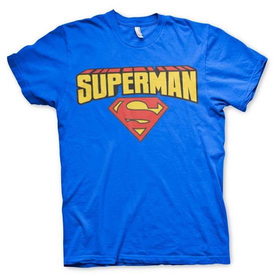 Superman kleding heren t shirt