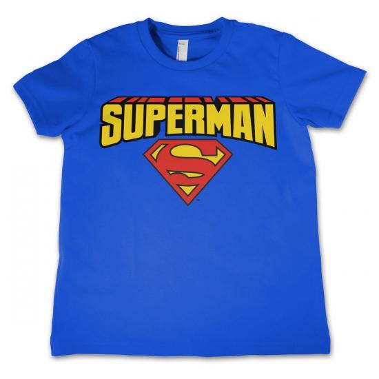 Superman kleding kinder t shirt