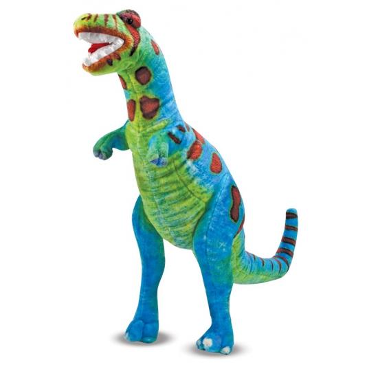 T Rex knuffel gekleurd 81 cm