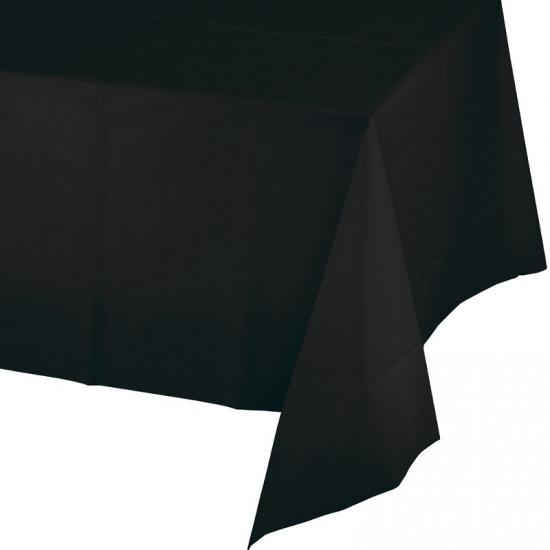 Tafellaken zwart 274 x 137 cm