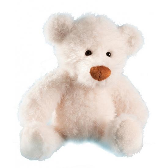Teddy beer wit 28 cm