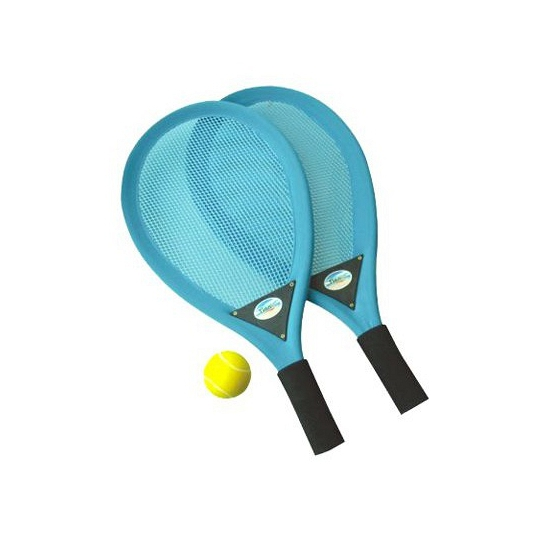 Tennis racket set met softbal 3dlg