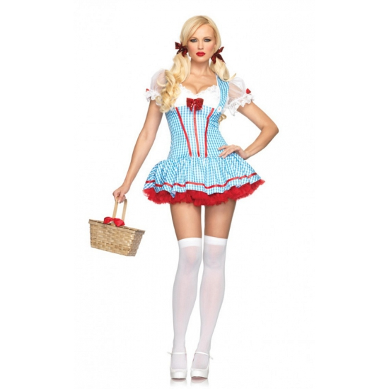 Tovenaar van Oz dames kostuum
