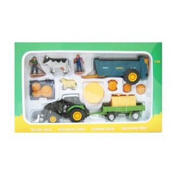 Tractoren speelset met shovel voor kinderen