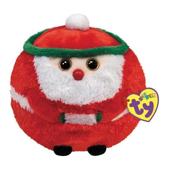 Ty Beanie ronde kerstman knuffel