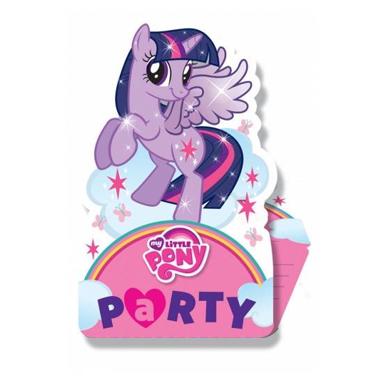 Uitnodigingen My Little Pony thema