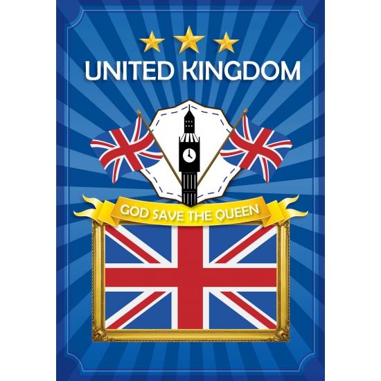 UK deurposter met de Big Ben