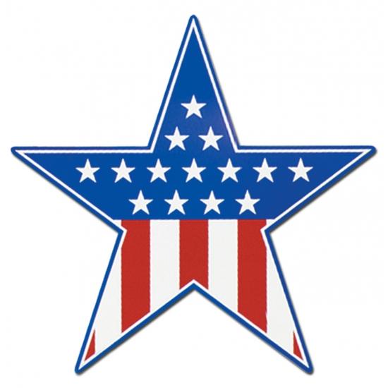 USA ster wanddecoratie 38 cm