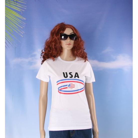 USA vlaggen t shirts voor dames