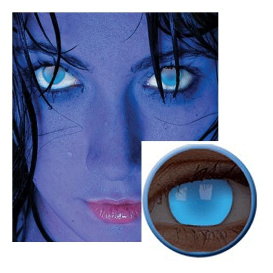 UV blauwe funlenzen