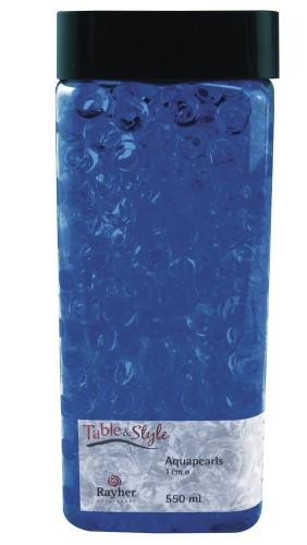 Vaas water parels blauw 1 cm