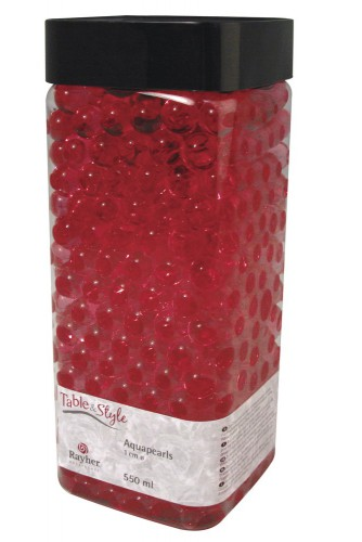 Vaas water parels roze 1 cm