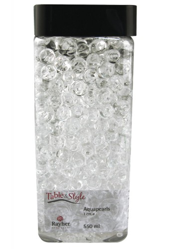 Vaas water parels transparant 1 cm