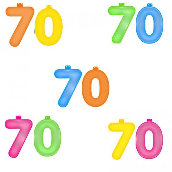 Verjaardag opblaascijfer 70