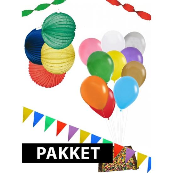 Verjaardag versiering pakket XXL