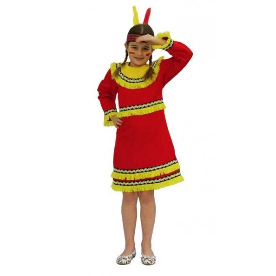 Verkleed indianen jurk voor meiden