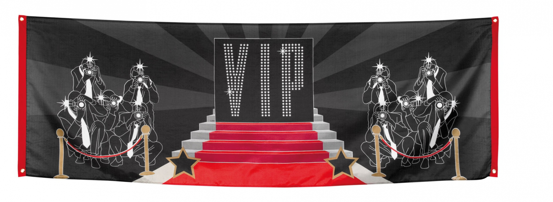 VIP feest banner 220 cm