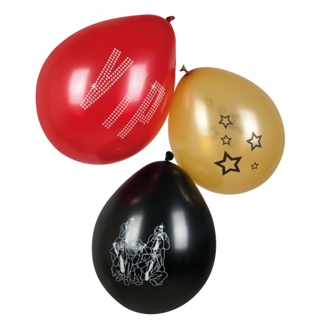 VIP paparazzi ballonnen 6 stuks