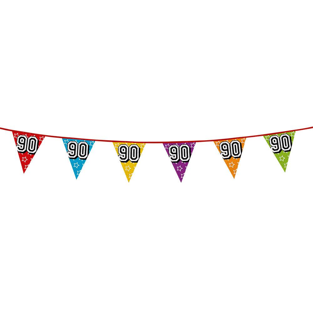 Vlaggetjes 90 jaar feestje