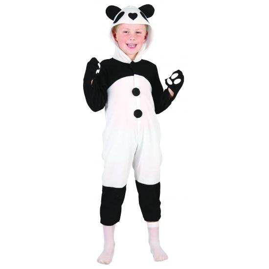 Voordelig panda peuter kostuum
