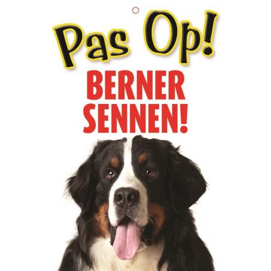 Waakbord Berner Sennen hond
