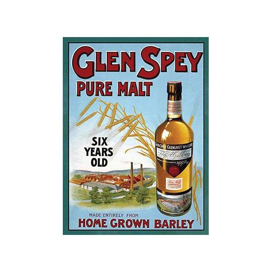 Wand bordje Glen Spey 30 x 40 cm