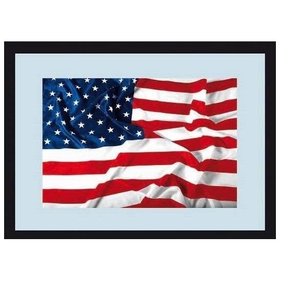 Wandspiegel Amerikaanse vlag