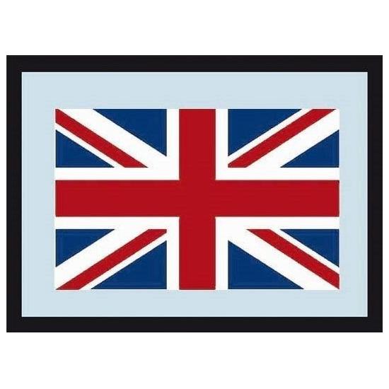 Wandspiegel Engelse vlag