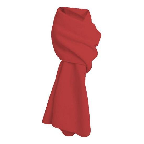 Warme fleece sjaals rood