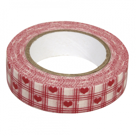 Washi knutsel tape rode harten