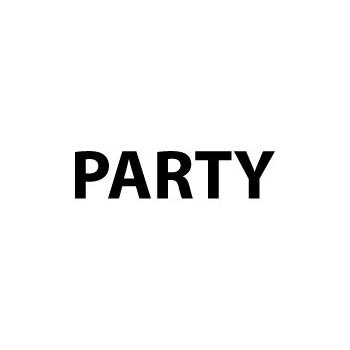 Wegwijs sticker Party