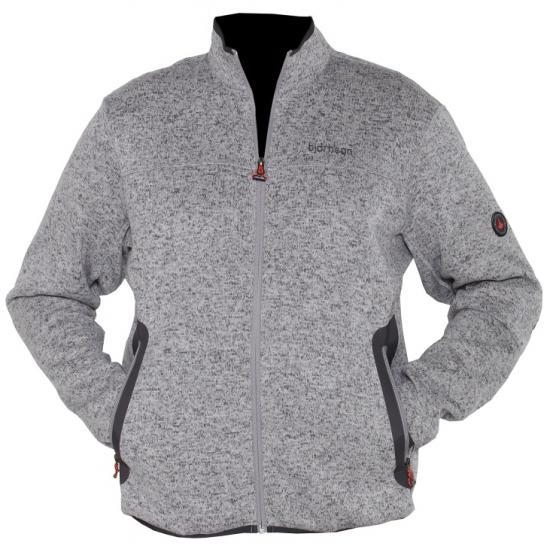 Werkkleding fleece trui grijs