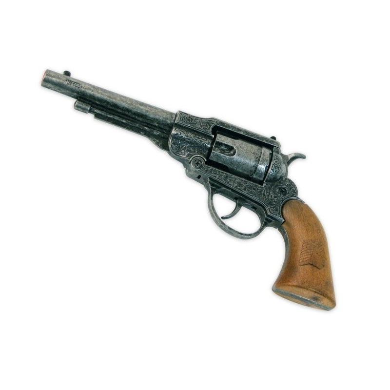 Western revolver met 8 schoten