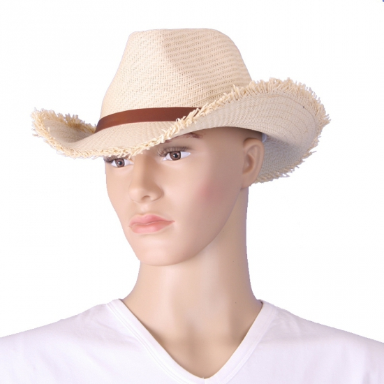 Western stro hoed ecru