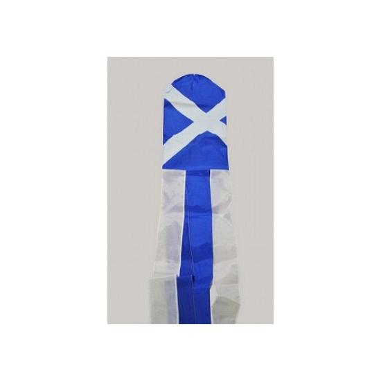 Windsok met de vlag van St Andrew