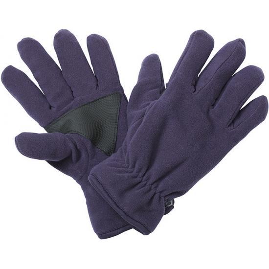 Winter fleece handschoenen aubergine