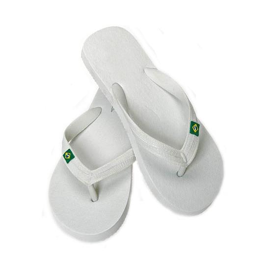 Witte flip flop slippers voor heren