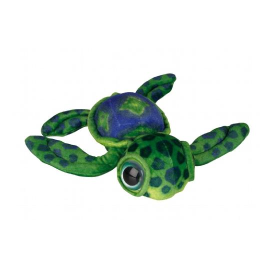 Zachte groene schildpad knuffel