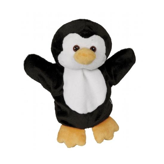 Zachte pinguin handpop