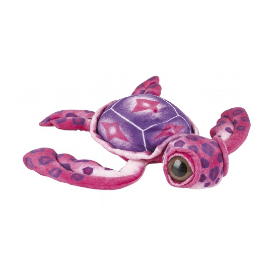 Zachte roze schildpad knuffel